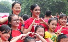 Hoa hậu Ngọc Hân hòa nhịp cùng 'Nhảy! Vì sự tử tế' 2017
