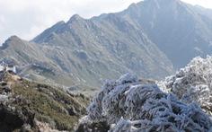 Fansipan lạnh dưới 0 độ C, xuất hiện sương muối