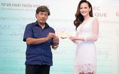 Hoa hậu Khánh Ngân gửi tặng đồng bào Phú Yên 200 triệu đồng