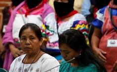 Một phụ nữ thổ dân chạy đua chức tổng thống Mexico