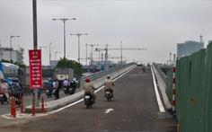 Thông xe cầu Nguyễn Tri Phương nối đường Võ Văn Kiệt