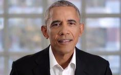 Cưới nhau 25 năm, ông Obama vẫn tỏ tình ngọt ngào với bà Michelle