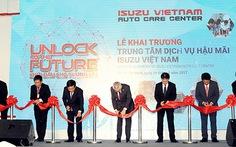 Isuzu Việt Nam ra mắt trung tâm dịch vụ hậu mãi tại TP.HCM