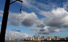 'Bến treo cổ' bên bờ sông Thames