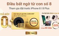 Đặt trước iPhone 8|8+ nhận quà trị giá đến 2,8 triệu đồng