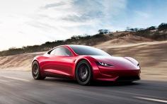Tesla sắp tung ra Roadster: Siêu xe thể thao chạy bằng điện nhanh nhất thế giới