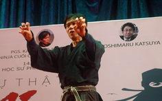 Ninja cuối cùng trên thế giới thi triển công phu ở Sài Gòn