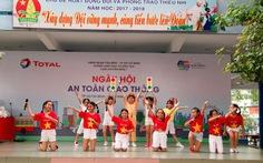 Ngày hội an toàn giao thông trong trường học