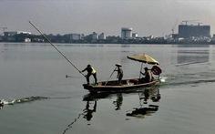 Xác minh vụ nhân viên môi trường 'hành hung' vịt trời trên hồ Tây
