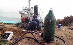 Nhờ Bộ Quốc phòng giúp dò tìm cabin tàu chìm ở Quy Nhơn