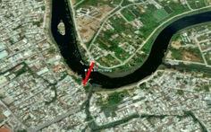 Chưa xây cầu qua sông Vàm Thuật