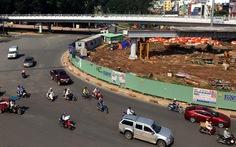 Đầu năm 2018, làm nhánh cầu vượt 3 vòng xoay Nguyễn Kiệm