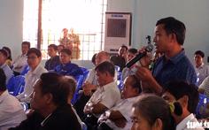 Chủ tịch Biên Hoà đối thoại với dân khu mỏ đá Tân Cang