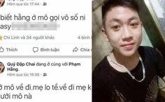 Bắt nghi phạm sát hại nữ sinh rồi lên Facebook 'nhờ tìm'