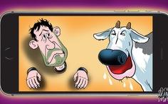 Iphone X và cảm xúc con bò
