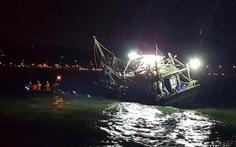 Tìm thấy thi thể hai ngư dân tàu cá chìm ở Vũng Tàu