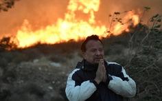 Những hình ảnh kinh hoàng ở biển lửa California