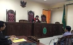 Indonesia hoãn tuyên án thuyền trưởng VN vì thẩm phán... bận việc