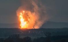 Nổ ở đầu mối khí đốt hàng đầu châu Âu