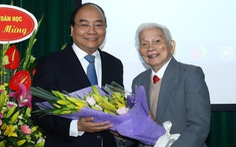Thủ tướng mong có nhiều nhân tài toán học như GS Hoàng Tụy