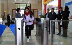 Hệ thống soát vé tự động ga Hà Nội và Sài Gòn đi vào hoạt động