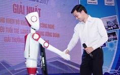 Robot công bố kết quả Euréka 2017