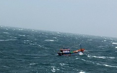 Vượt gió bão Kai-Tak, cứu được sáu ngư dân