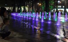 Công viên Văn Lang trở thành quảng trường nhạc nước