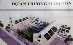 Chậm xây trường mầm non, hai huyện ở TP.HCM bị phê bình