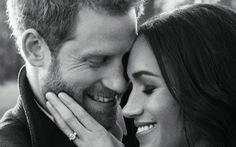Hoàng tử Harry và 'Lọ Lem' Meghan Markle hạnh phúc trong bộ ảnh đính hôn