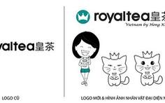 Royaltea Vietnam By Hong Kong thay đổi logo thương hiệu