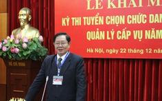 2 người trúng tuyển chức danh Phó Vụ trưởng Bộ Nội vụ