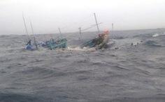 Vẫn chưa tìm thấy 2 tàu cá mất liên lạc