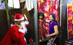 Những ông già Noel trên công trường Thủ Thiêm