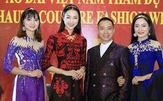 Áo dài Việt trình diễn tại Tuần lễ thời trang Paris 2018