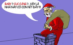 Xin ông già Noel đừng gửi tài khoản bé, bạn gái to