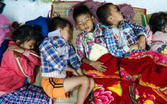 2.000 trẻ đất mũi Cà Mau trú bão trong đêm lạnh