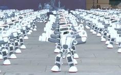 Màn khiêu vũ ấn tượng của 1.069 robot