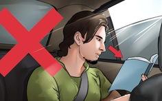 8 mẹo vặt tránh say tàu xe