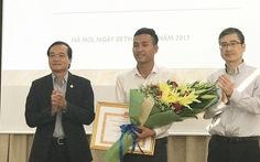 Hà Nội trao danh hiệu 'Người tốt, việc tốt' cho Vũ Huy Cảng