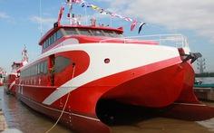 Thêm 2 tàu cao tốc hai thân 'made in Vietnam' được hạ thủy