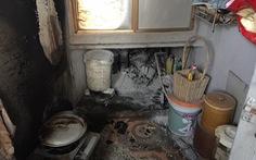 Nổ bình gas, ba người trong gia đình bỏng nặng