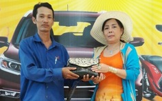 Nhân viên giao hàng trả 16 lượng vàng cho khách bỏ quên