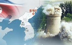 Hầm thử hạt nhân Punggye-ri ở Triều Tiên sập 2 lần, 200 người chết?