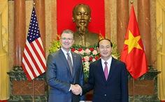 Tân đại sứ Mỹ trình quốc thư lên Chủ tịch nước