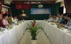 Tuyên huấn Lào trao đổi kinh nghiệm với Tuyên giáo Thành ủy TP.HCM