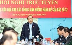 Khánh Hòa xin 1.150 tỉ đồng để khắc phục hậu quả bão số 12
