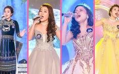 Xem clip 4 giọng ca nữ vào chung kết Sao Mai 2017