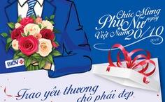 BIDV dành hơn 10 nghìn quà tặng cực xinh cho phái đẹp