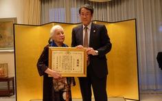 Chính phủ Nhật Bản truy tặng bằng khen cho cố giáo sư Phan Huy Lê